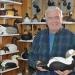 Bill (Dick) Hollis in his decoy workshop